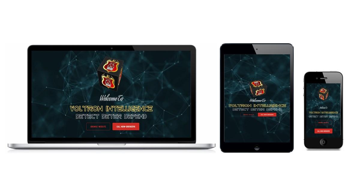 Voltron Intelligence Website Designed By Softdion Technology